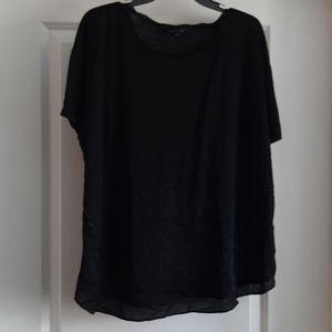 Simply Vera black beaded top.